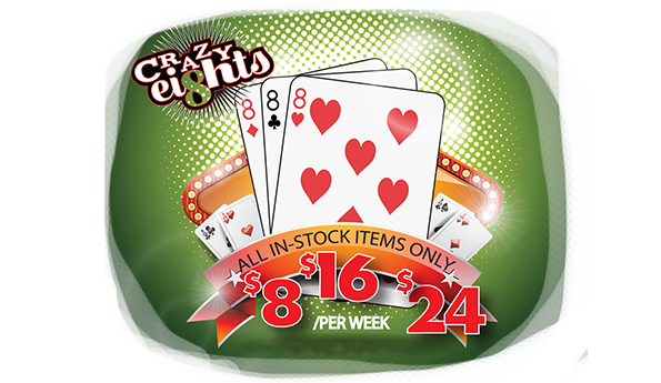 Crazy 8's Sale is Back!