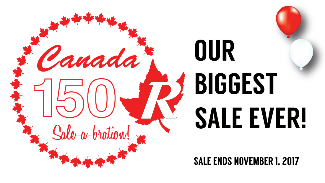 Canada 150 Sale-a-bration