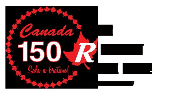 Canada 150 Sale-a-bration!