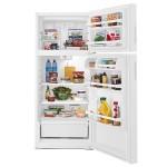 Amana 14 CU. FT. Top-Freezer Refrigerator Open