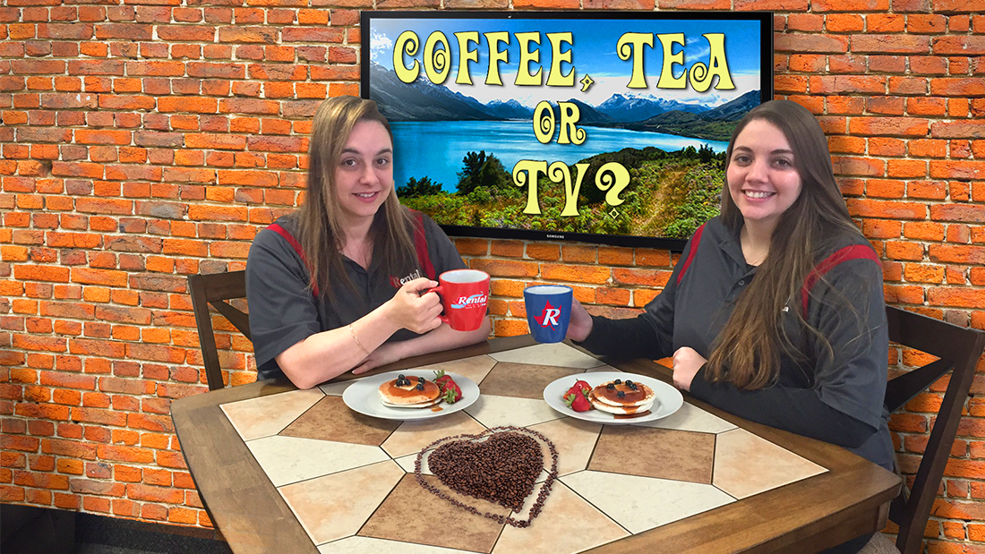 Coffee, Tea or TV?