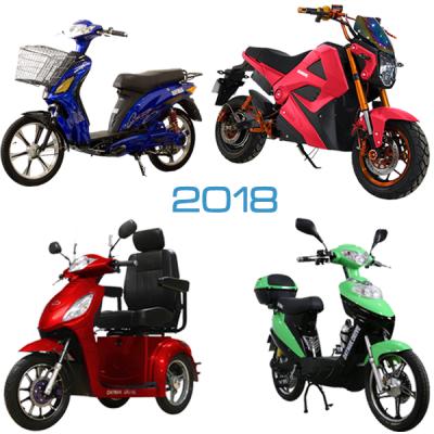 2018 Ebikes