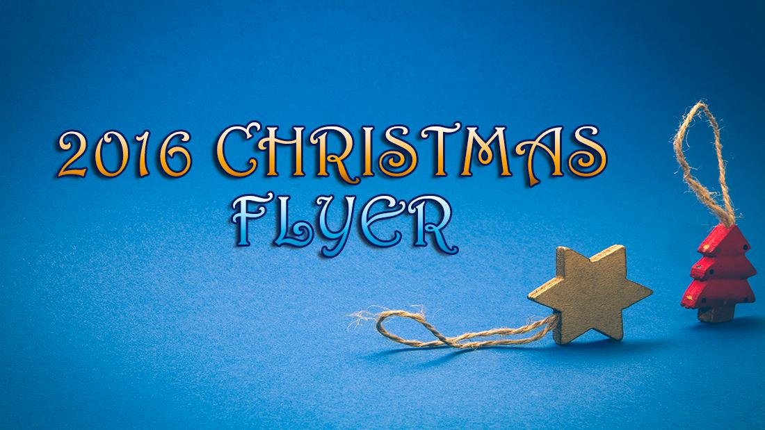 2016 Christmas Flyer