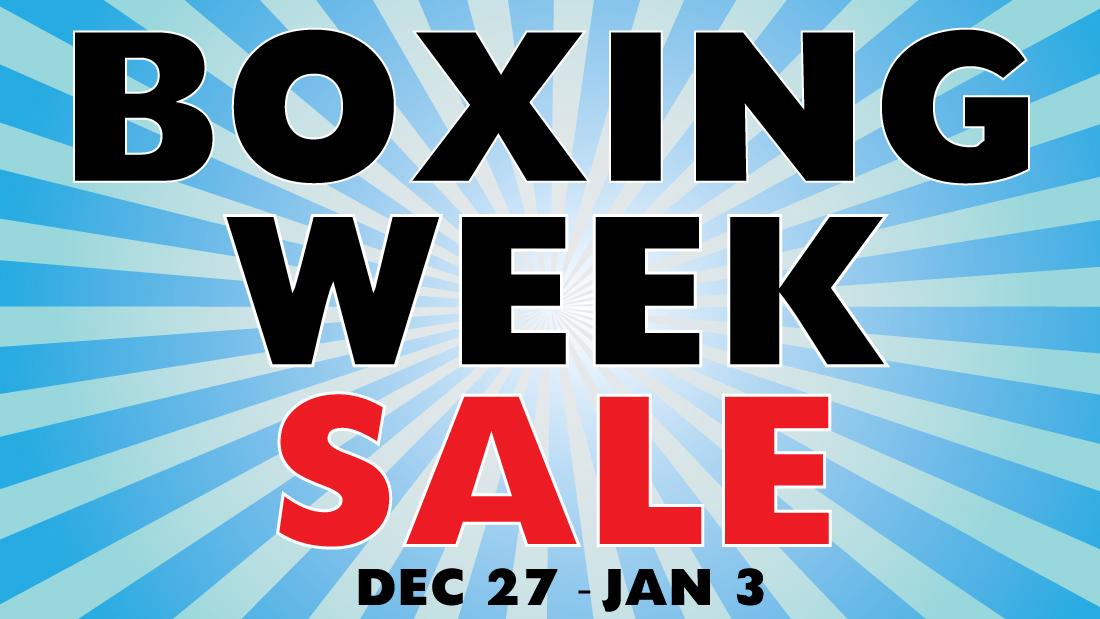 Boxing Week Sale 2017