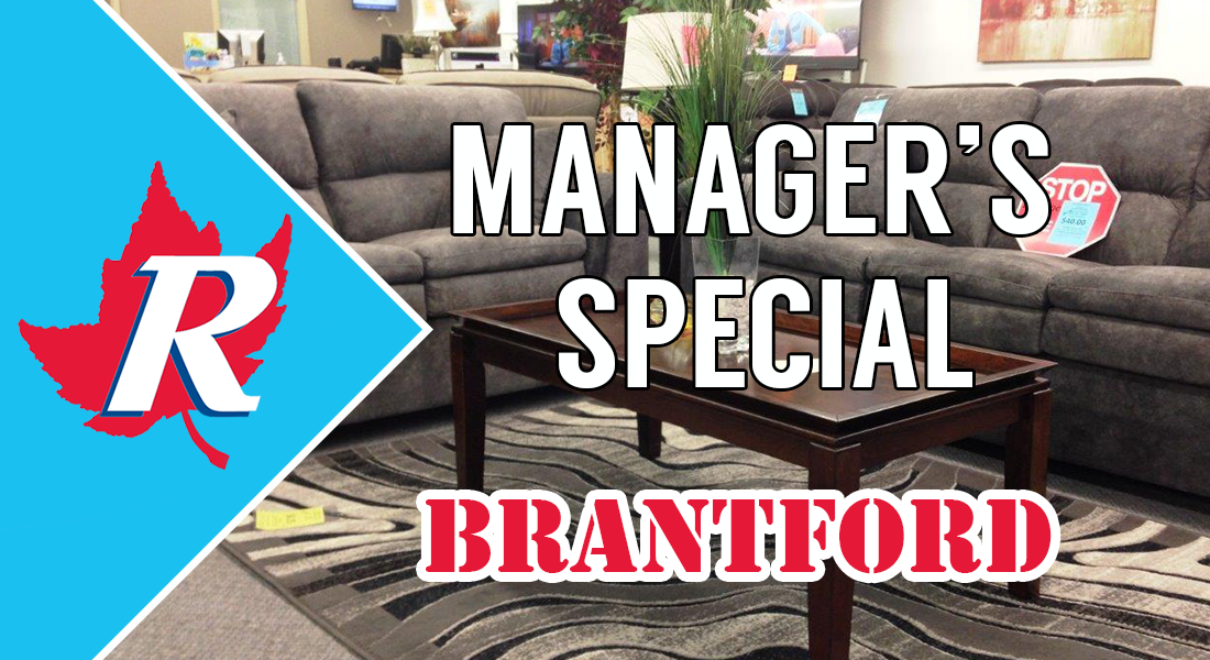 2018 Brantford Manager's Sale