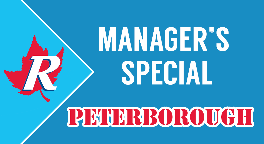 Manager's Special Peterborough