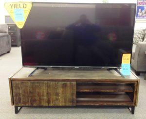 60 TV and Stand
