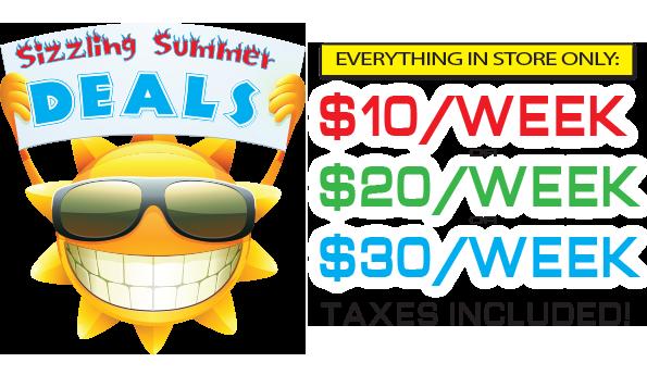 Sizzling Summer Deals!