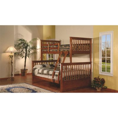 MEGA Twin Double Bunkbed