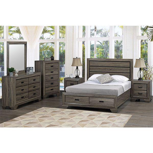 Titus Jenna Bedroom Suite