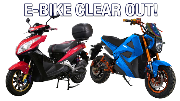 2018 EBIKE CLEAROUT