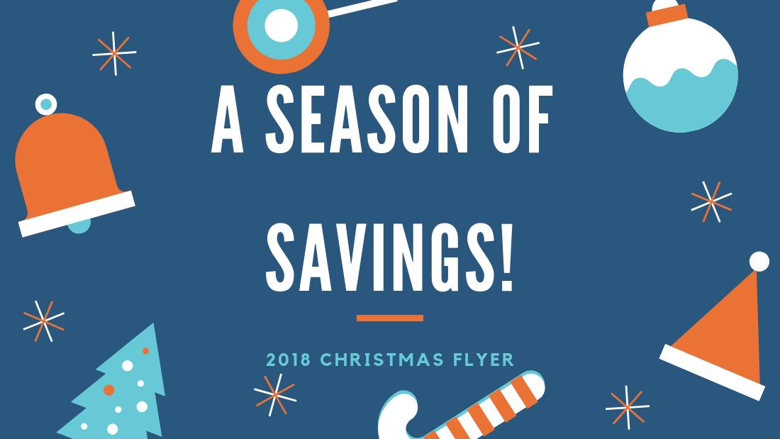 2018 Christmas Flyer