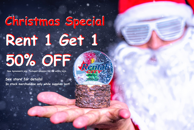 Christmas Special – Rent 1 Get 1 50% Off